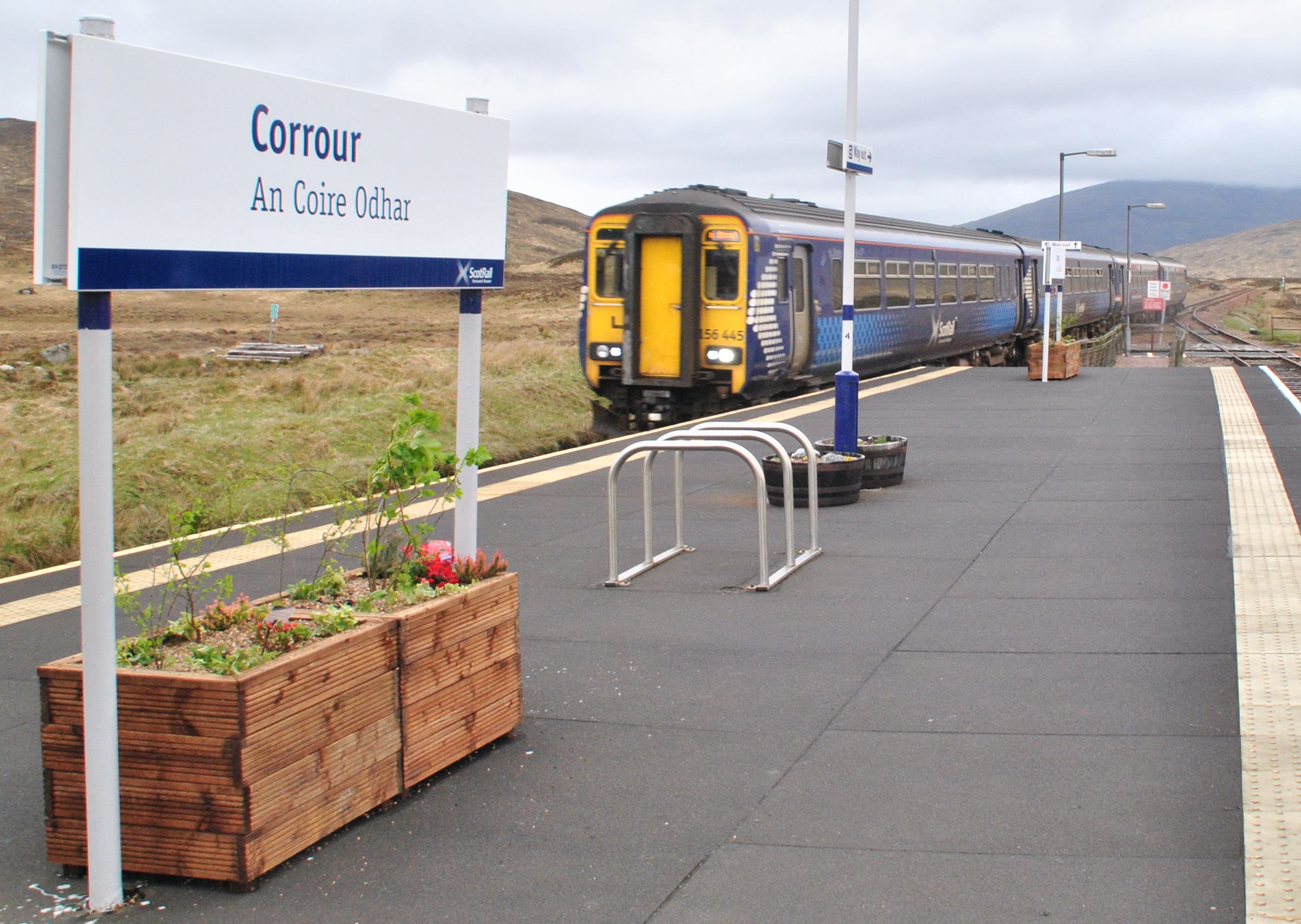Bahnreisen Schottland