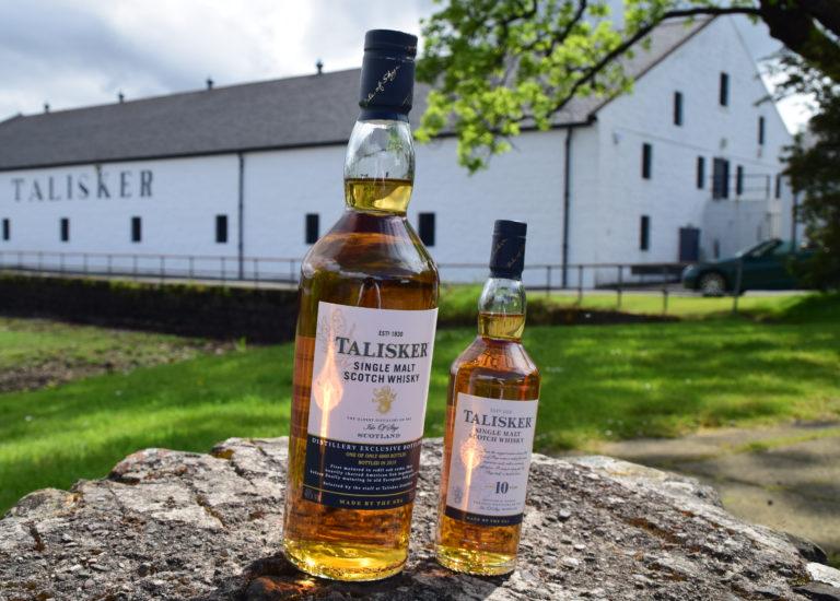 Talisker Whisky Distillery, Isle of Skye, Schottland