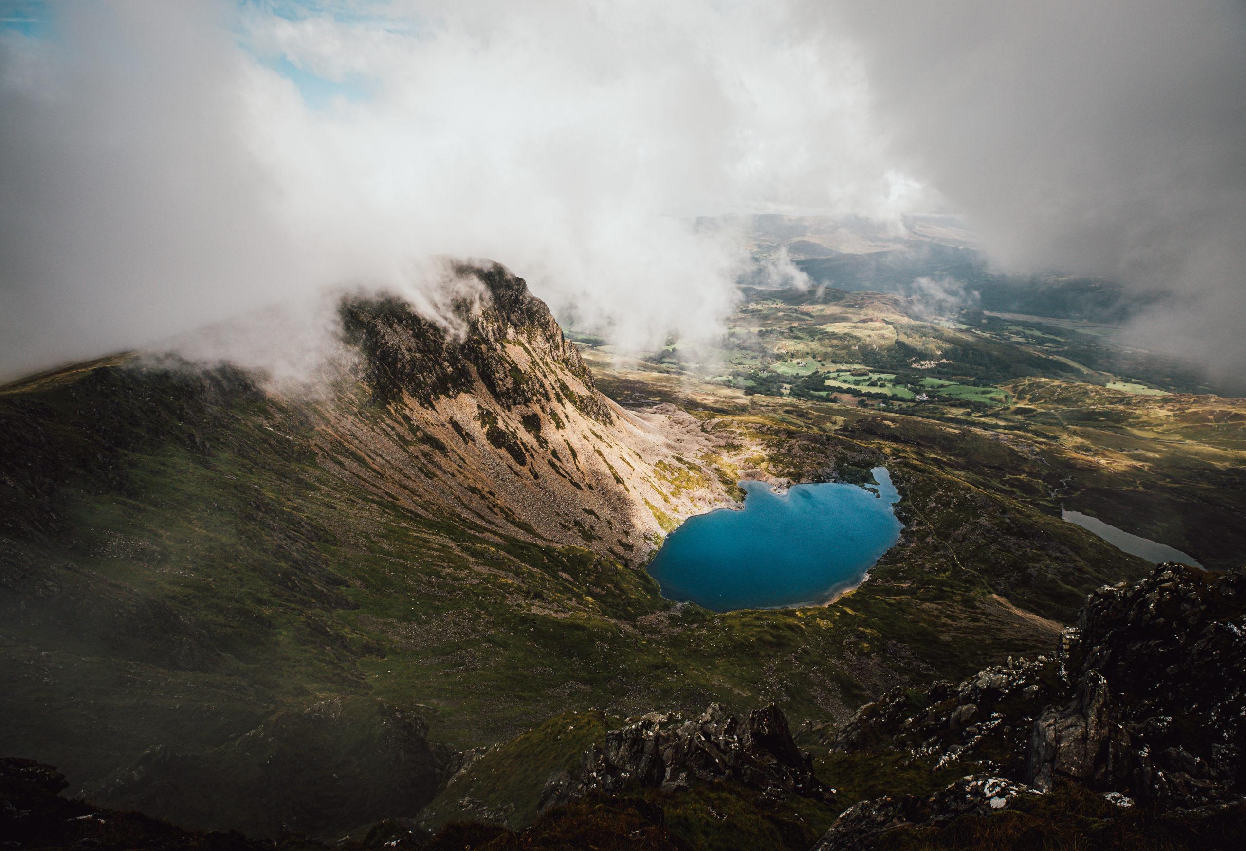 Snowdonias Berggipfel, Burgen & Feen